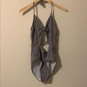 Black Checker Bikini